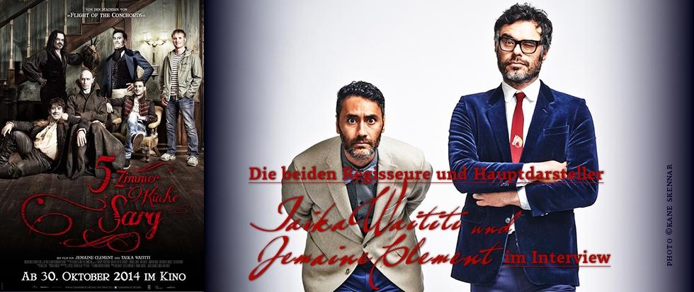 5 ZIMMER KÜCHE SARG – Die Regisseure und Hauptdarsteller Taika Waititi und Jemaine Clement im DEADLINE-Interview