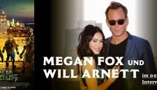 COWABUNGA, IT IS TMNT! - Im Gespräch mit Megan Fox und Will Arnett