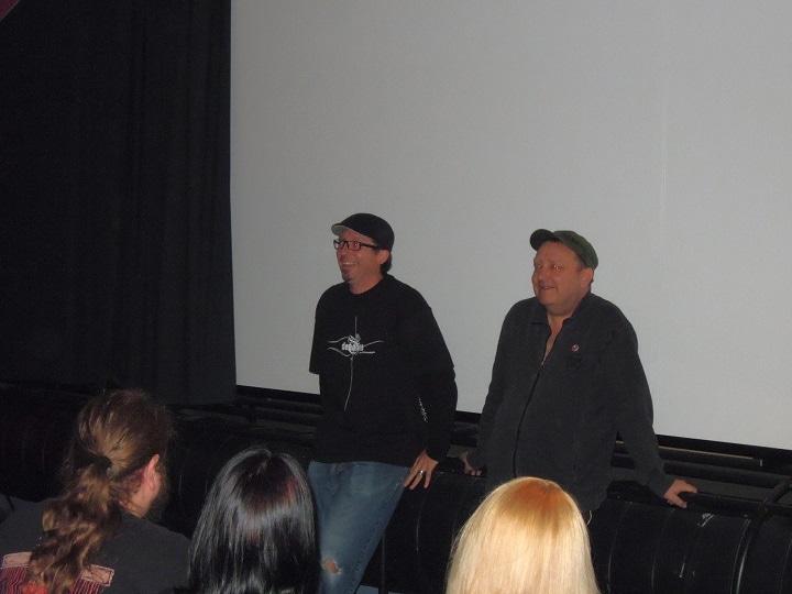 MAX MUSTRMANN-Regisseur Christian Grell und Veranstalter Mike Neun