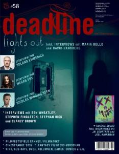 Deadline #58 Cover