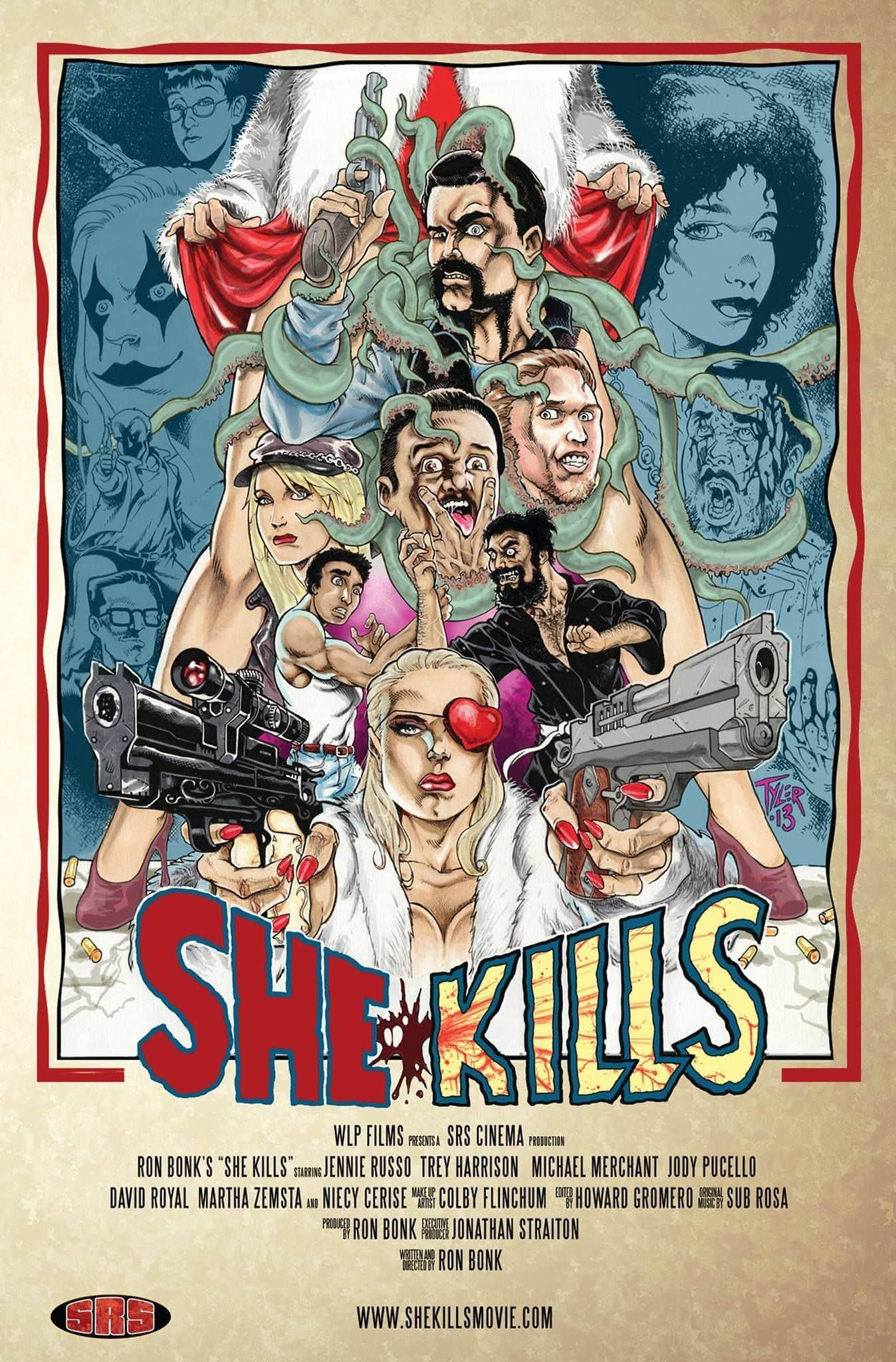 She Kills Poster