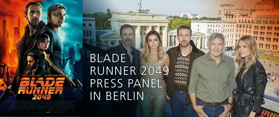 PRESS PANEL ZU BLADE RUNNER 2049 IN BERLIN
