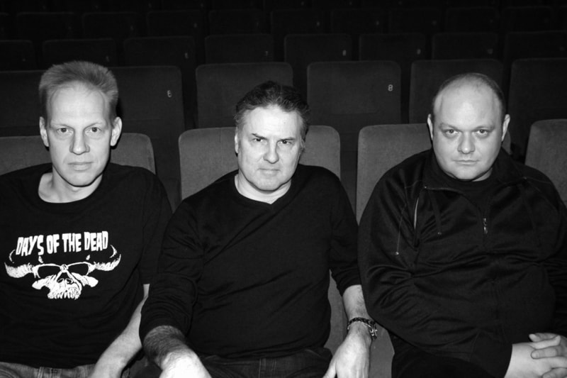 vlnr. Jörg Buttgereit, Andreas Marschall, Michal Kosakowski © 2013 Yazid Benfeghoul