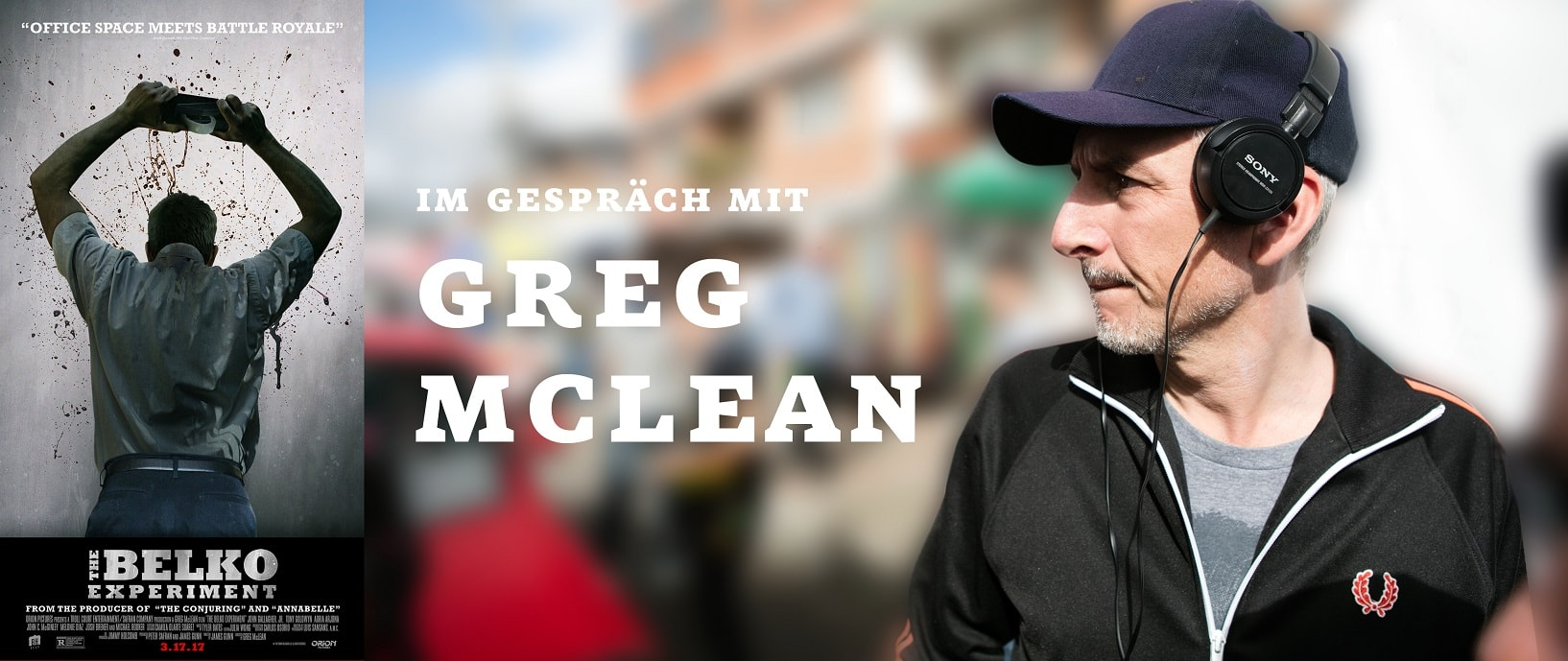 Greg McLean im Interview zu DAS BELKO EXPERIMENT