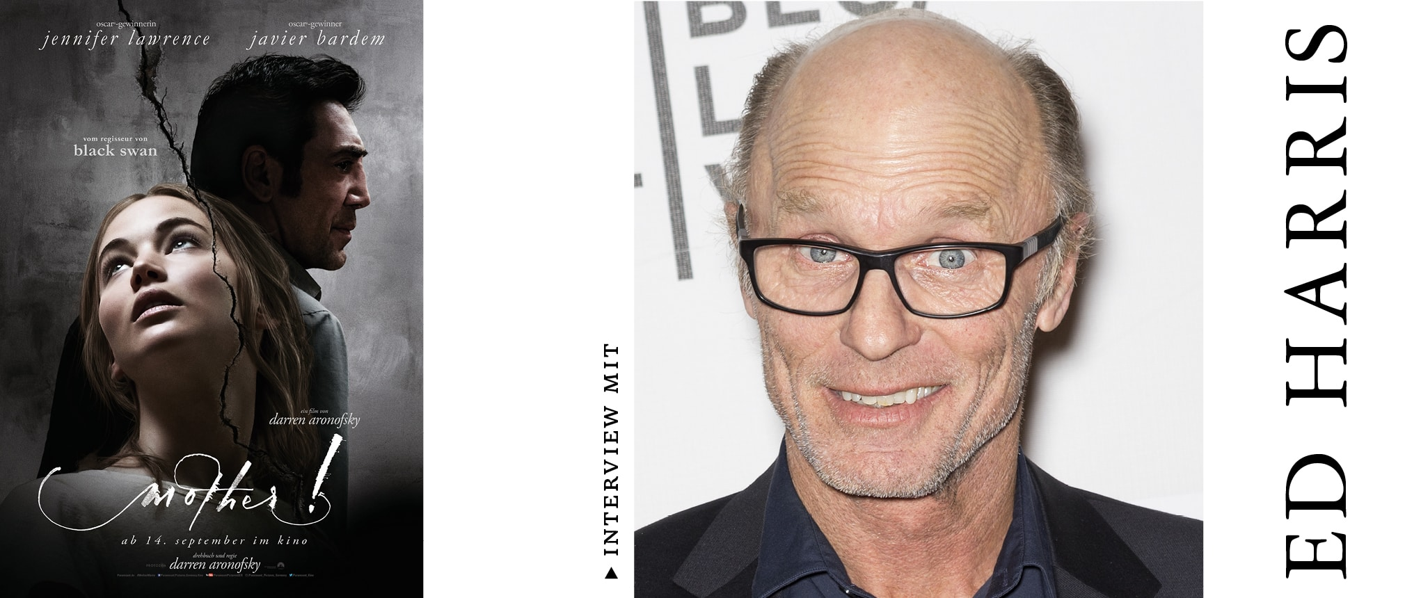 ED HARRIS IM INTERVIEW ZU MOTHER!