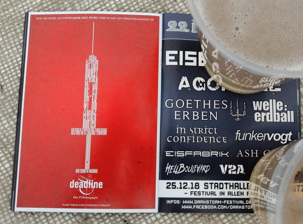 Deadline-Gruesse-Amphi