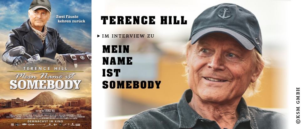 TERENCE HILL IM INTERVIEW ZU MEIN NAME IST SOMEBODY