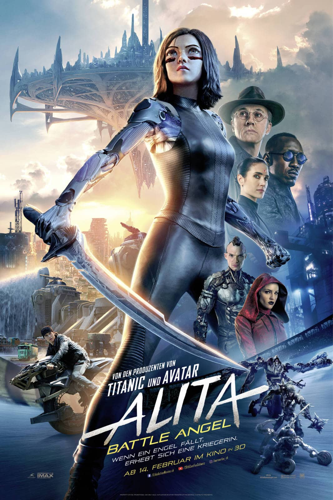 Alita Battle Angel Kinoposter