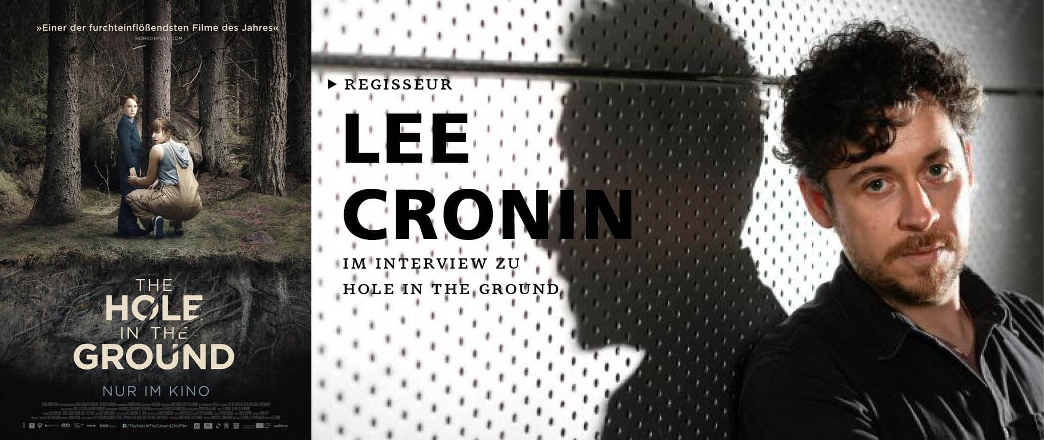 Im Gespräch mit THE HOLE IN THE GROUND-Regisseur Lee Cronin