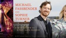 MICHAEL FASSBENDER UND SOPHIE TURNER IM INTERVIEW ZU X-MEN: DARK PHOENIX