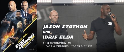 IDRIS ELBA UND JASON STATHAM IM INTERVIEW ZU HOBBS & SHAW
