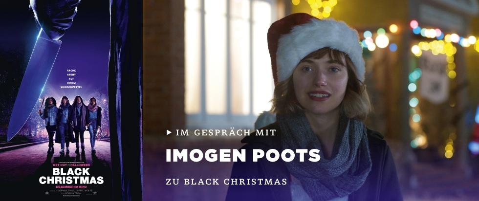 IM GESPRÄCH MIT IMOGEN POOTS ZU BLACK CHRISTMAS
