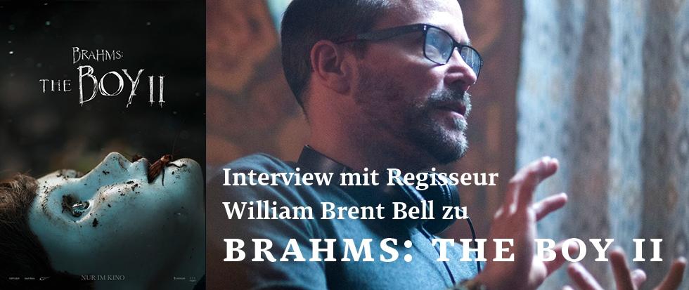 Interview mit Regisseur William Brent Bell zu BRAHMS: THE BOY 2