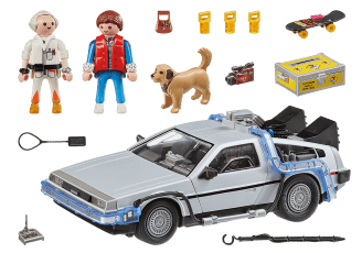 Back to the Future DeLorean_Content